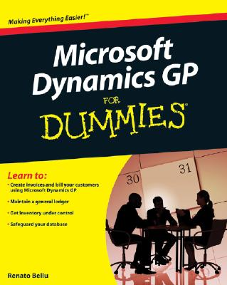 Microsoft Dynamics GP For Dummies By Bellu, Renato